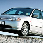 Седан Honda Civic 4D VII (2003) фас