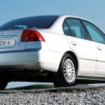 Седан Honda Civic 4D VII (2003) анфас