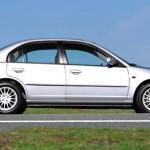 Седан Honda Civic 4D VII (2003) профиль