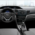 интерьер Honda Civic 4D 2012